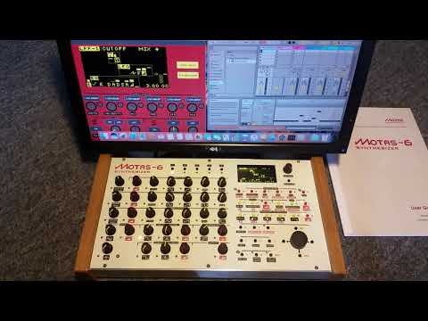 Motas-6 VCF1 frequency instructional demo