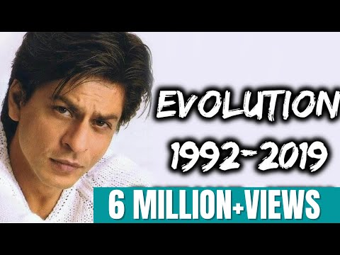 Shahrukh Khan Evolution (1992-2019)