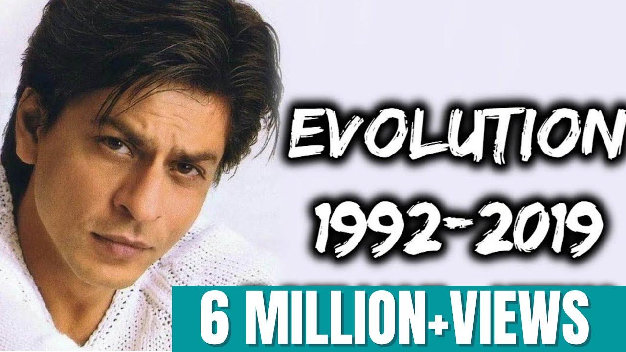 Download Shahrukh Khan Evolution (1992-2019)