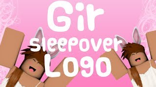 Gir Sleepover Logo| ROBLOX GFX SPEEDART