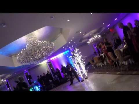Wedding entrance and first dance.
