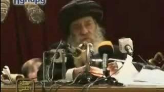 أنت تسأل والبابا شنوده يجيب00إذا كان الله في كل مكان فأين الشيطان؟؟