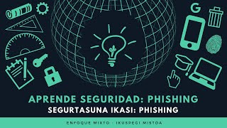Aprende Seguridad: Phishing - Enfoque Mixto
