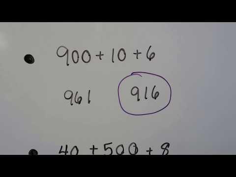 Grade 2 Math  9.5, Understanding place value  (three-digits)