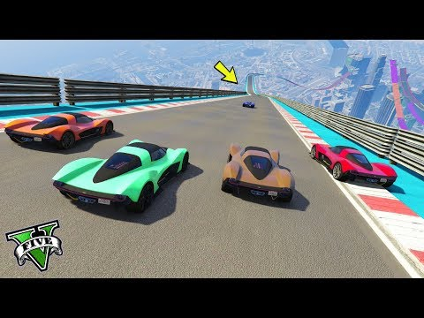 GTA 5 ONLINE 🐷 RAMPE RAMPE RAMPE !!!🐷 GARE STUNT 🐷N*198🐷 GTA 5 ITA 🐷 DAJE !!!