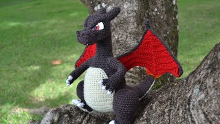 Charizard's Snout - Amigurumi Pattern By Miahandcrafter