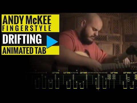 ANDY McKEE - DRIFTING - Animated Tab