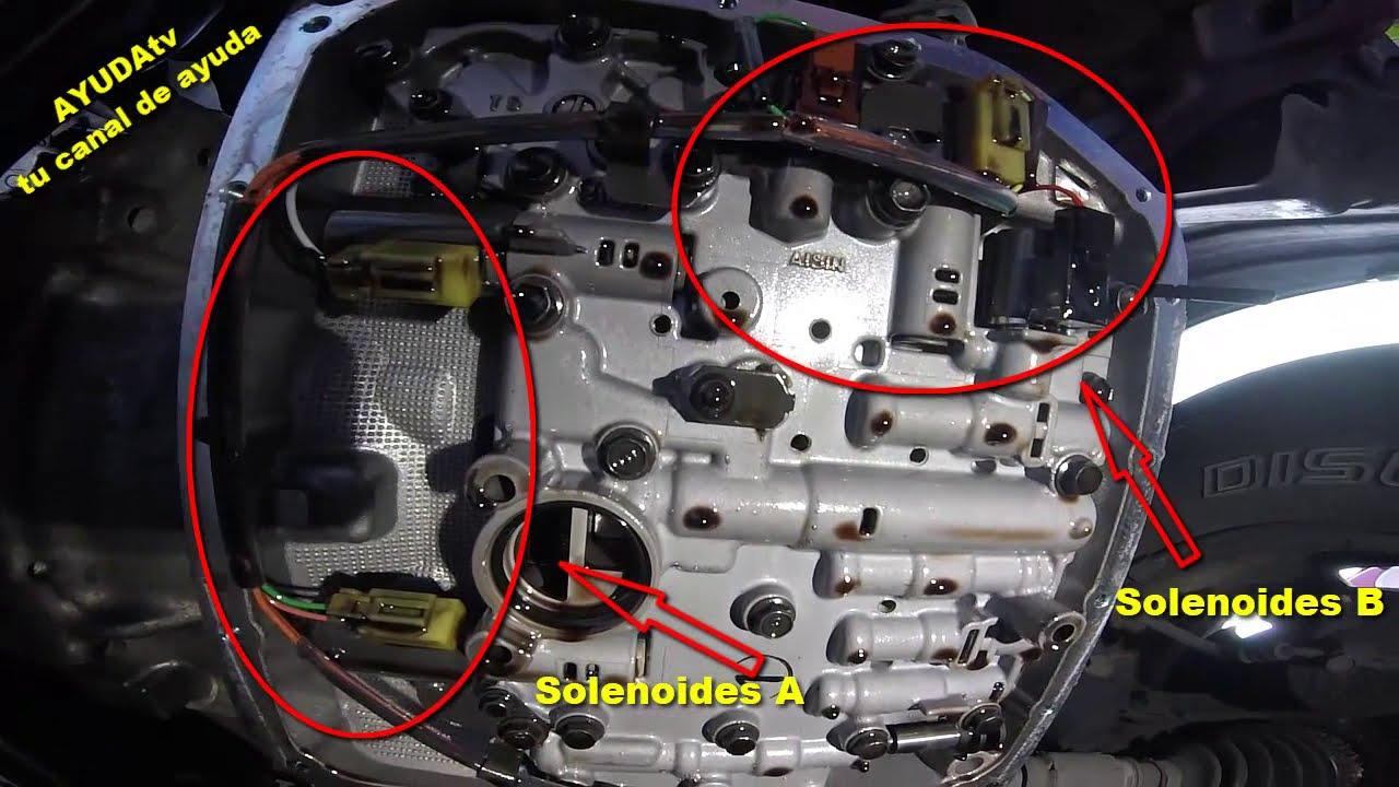 Toyota Rav4 Se >> Toyota Rav4 2001 - 2004 Solenoides de Transmisión A y B donde están? - YouTube
