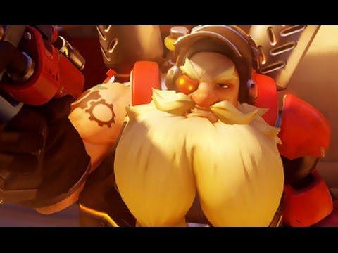 Overwatch gnome power !!!!!!!