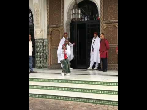 Buddy | Crip Walk Outside Hotel In Morocco