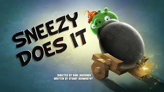 Злые птички - Энгри Бердс - Неблагодарная работа (S1E19)    Angry Birds Toons