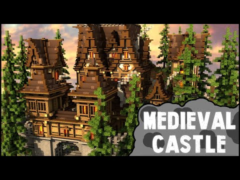 Minecraft Timelapse - Medieval Castle │DiddiHD│