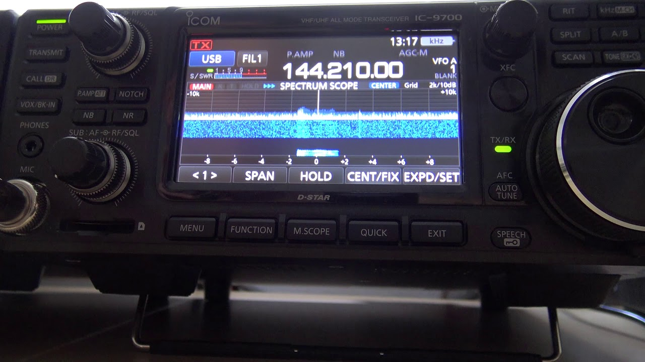IC-9700, 2 Meter VHF Opening, SSB Contacts Statewide