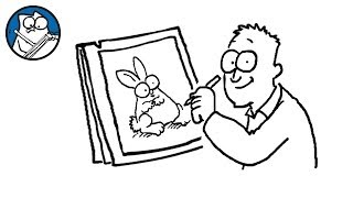 Simon Draws: Rabbits - Simon's Cat | CREATIVE