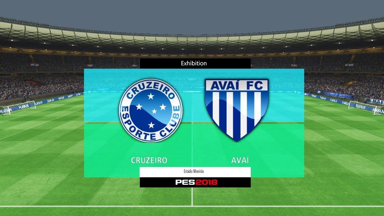 Cruzeiro X Avaí Campeonato Brasileiro 2017 Mineirão Youtube