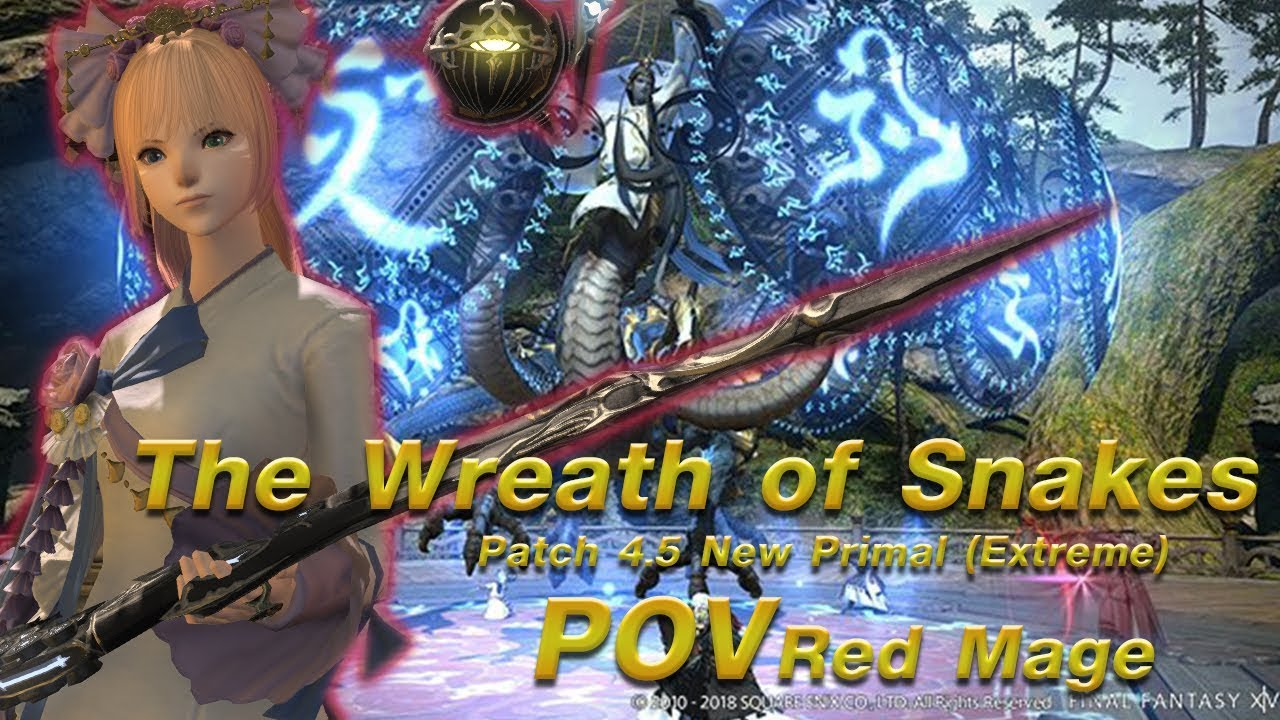 [FFXIV] The Wreath of Snakes (Extreme) - 1st Clear - Red Mage POV