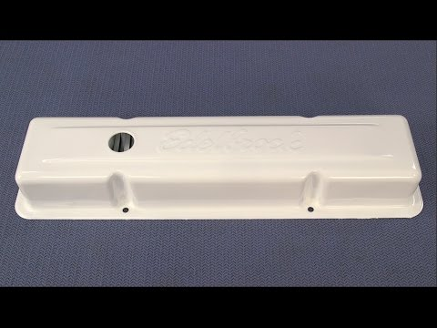 How To Powder Coat Valve Covers - Powder Coating Parts at Home - Eastwood