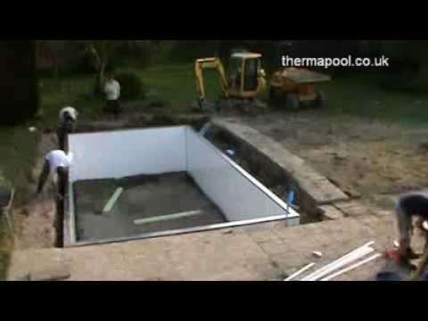 Easy Peasy Swimming Pool Build Youtube
