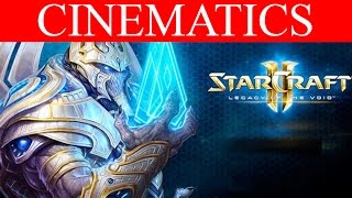 (SPOILERS) StarCraft 2 Legacy of the Void Cinematics Campaign HD Ultra Gameplay