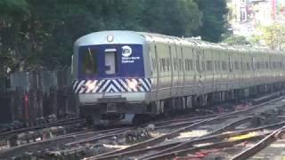 HD 60FPS: AM Rush Metro North Harlem Line & New Haven Line Action @Botanical Garden