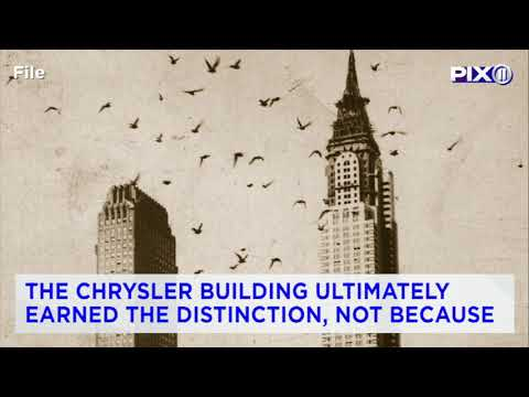 NYC's landmark Chrysler Building is for sale