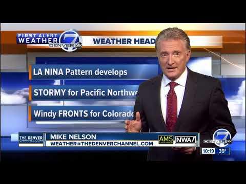 A cold front moving into Colorado