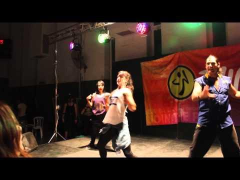 Kass Martin in Jerusalem - Zumba®fitness with Ira