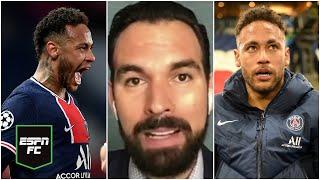 EL PARTIDO DE NEYMAR. El brasileño fue la figura del PSG vs Bayern Munich aunque no marcó | ESPN FC