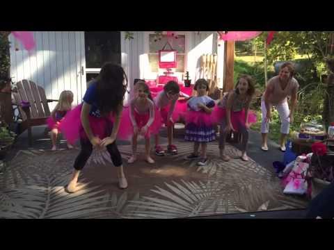 Katherine's Ballet Birthday Party