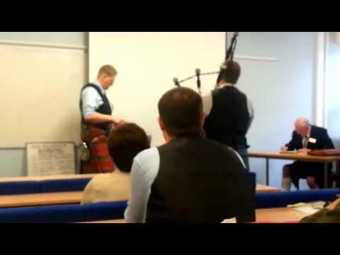 David Henderson - World Solo Drumming Championships 2013 - Adult Semi-Final 1