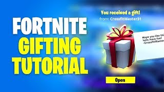 How to Use Fortnite Gifting System