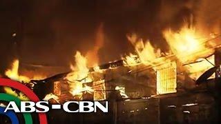 1 patay, 4 sugatan sa sunog sa Tondo