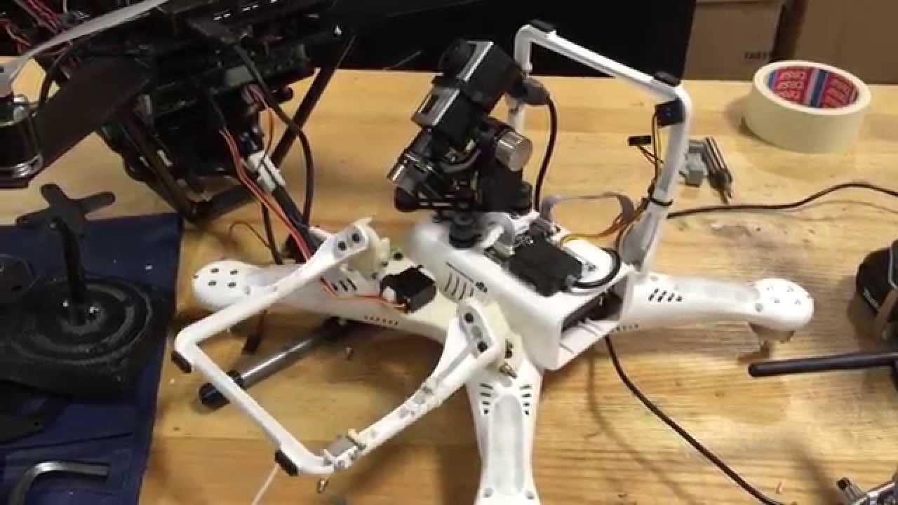 Phantom retractable landing gear youtube