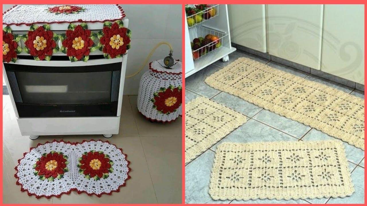 Kit Jogo De Cozinha Crochê Vários Modelos Para Se Inspirar
