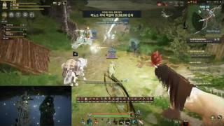 Black Desert PVP Ranger 1 VS 4, 2 VS 5 against SAVIOR Castle siege Team