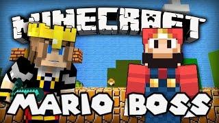 MARIO SANS SALOPETTE ! | Minecraft - Mario Boss