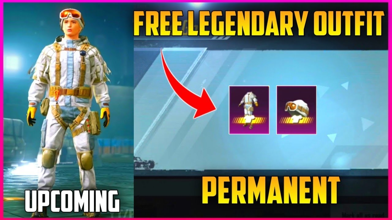 GET FREE PERMANENT LEGENDARY OUTFIT ON BGMI & PUBG MOBILE (UPCOMING EVENT) Kumari Gamer