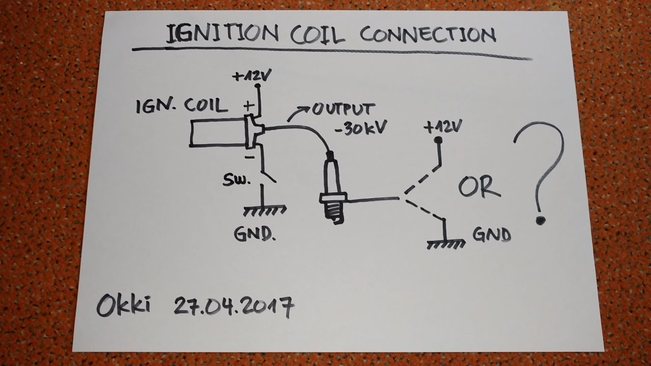 ignition coil circuit confusion youtube ignition coil distributor wiring diagram car coil wiring diagram [ 1280 x 720 Pixel ]