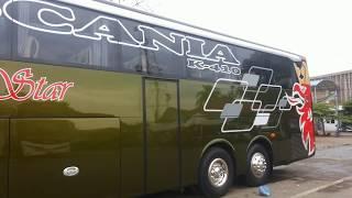 Review Singkat Sempati Star SCANIA K410 SkyView Coach