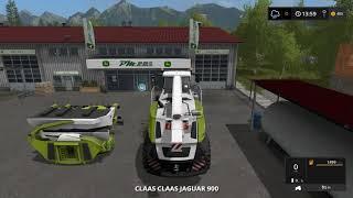Farming simulator 17 Timelapse $1Billion farming only challenge ep#20