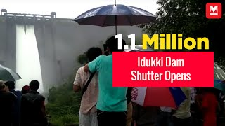 All 5 Shutters of Idukki Dam Opens