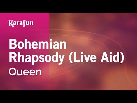 Karaoke Bohemian Rhapsody (Live Aid) - Queen *