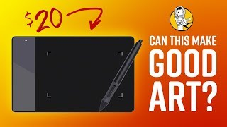 Can the World's Cheapest Drawing Tablet Make Good Art? (Huion 420)
