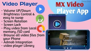 How to Create MX Video Player App in Android studio screenshot 4