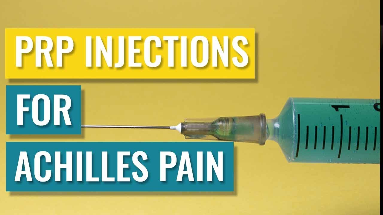 PRP Injections for Achilles Tendinopathy - Do they work? - YouTube