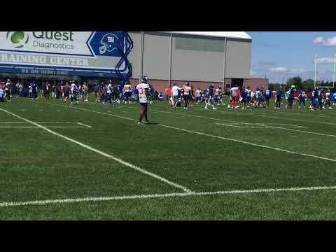 Giants' Odell Beckham makes sensational 1-handed catch