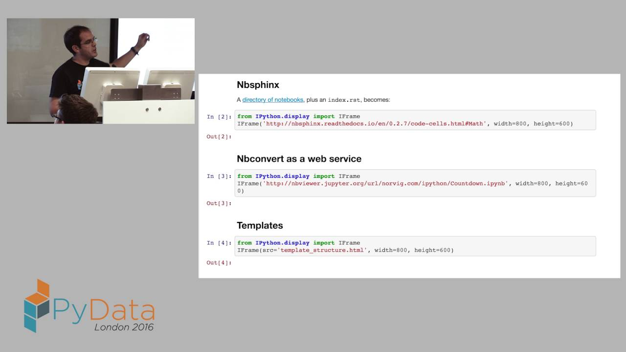 Thomas Kluyver & Min Ragan Kelley - Customising nbconvert how to turn  Jupyter notebooks into anythi