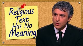 Religious Text Has No Meaning