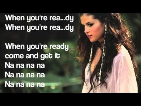 Selena Gomez - Come and Get it w/Lyrics