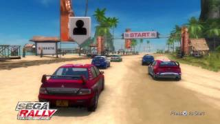 Sega Rally Online Arcade Quick Race